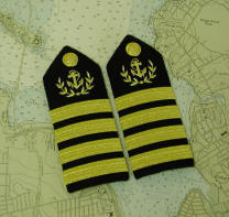 Yacht Club Uniforms, Commodore Uniforms, Captain's Uniforms