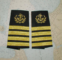 Merchant Marine Officer Epaulets.